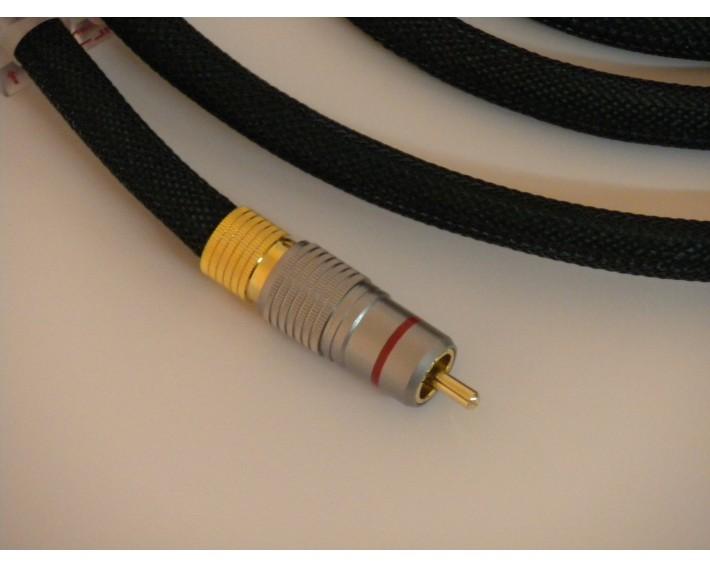 Câble RCA 6N BADA HL2.9 longeur 0.75m (la paire)