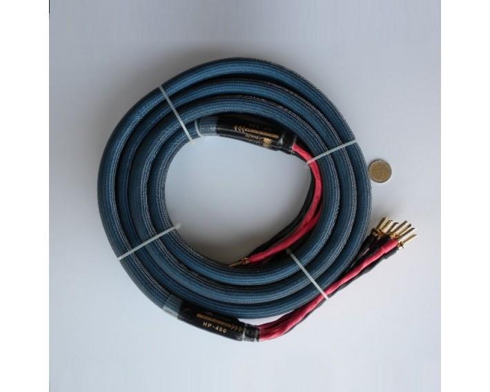 Bada HP400 : câble HP bi-câblage en 2 x 3m